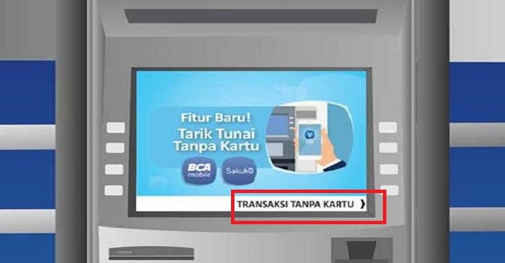 Cara tarik tunai tanpa menggunakan kartu ATM