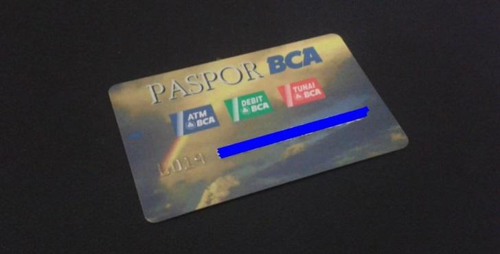 cara membuat kartu ATM BCA atau Paspor BCA terbaru