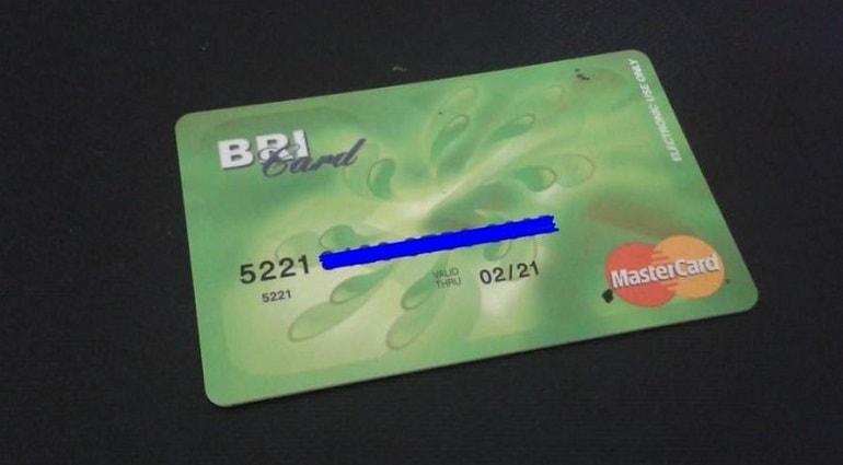 Kartu ATM BRI Classic