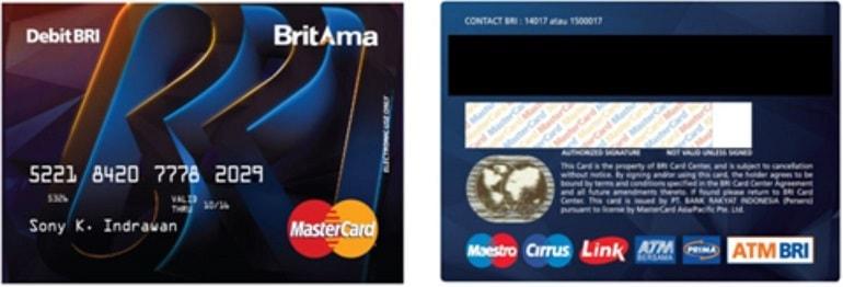 Kartu ATM BRI Premium