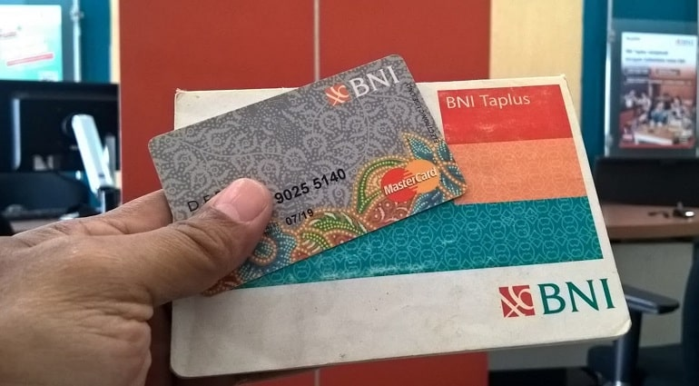 Kartu ATM BNI Silver