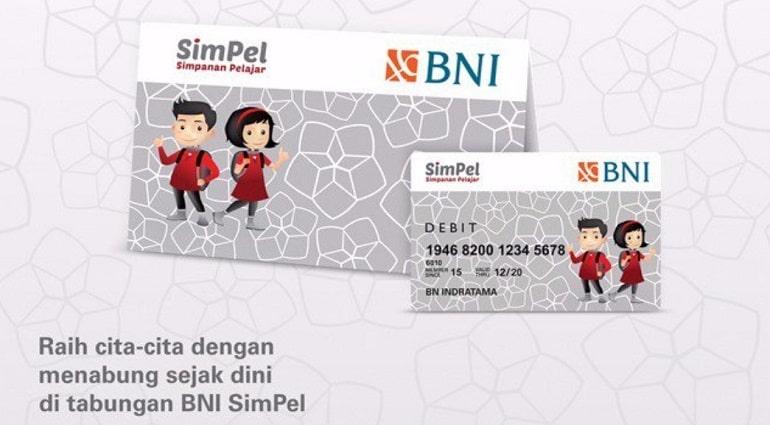 Kartu ATM BNI SimPel