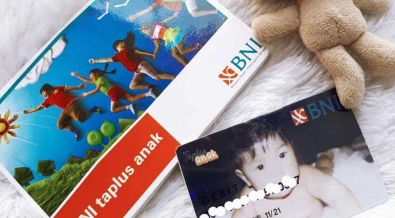 Kartu ATM BNI Taplus Anak