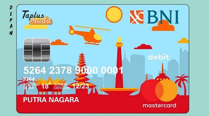 Kartu ATM BNI Taplus Muda