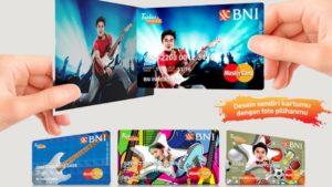 Membuat kartu debit BNI pakai nama dan foto pribadi