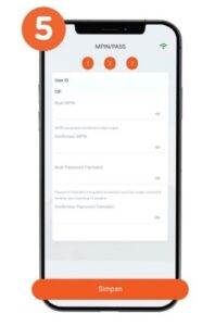 Ganti MPIN dan Password Transaksi BNI Mobile