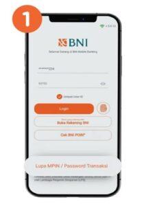 Lupa MPIN atau Password Transaksi